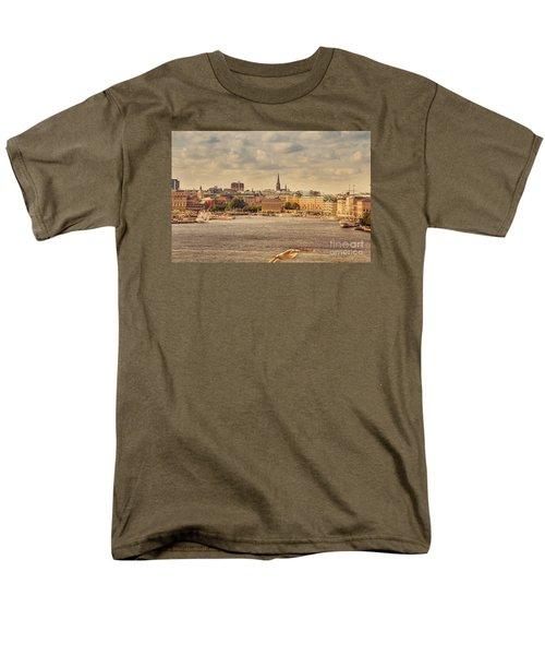 Warm Stockholm View Men's T-Shirt  (Regular Fit) by RicardMN Photography