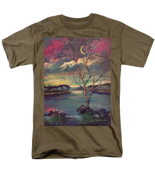 Was Like Stained Glass Men's T-Shirt  (Regular Fit)