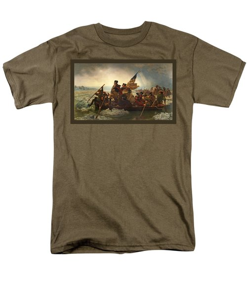 Men's T-Shirt  (Regular Fit) featuring the photograph Washington Crossing The Delaware by John Stephens