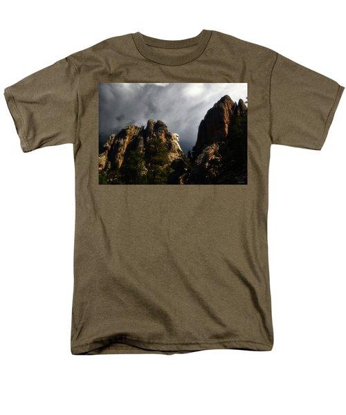 Washington Profile 001 Men's T-Shirt  (Regular Fit) by George Bostian