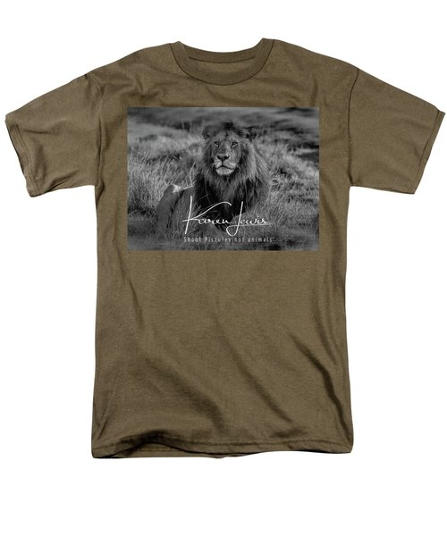 Men's T-Shirt  (Regular Fit) featuring the photograph Watching And Waiting by Karen Lewis