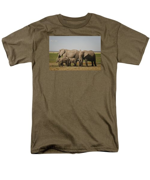 Men's T-Shirt  (Regular Fit) featuring the photograph Watching The Children by Gary Hall