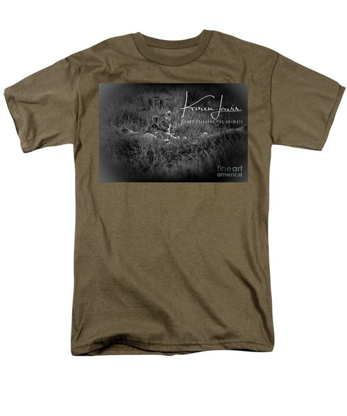 Men's T-Shirt  (Regular Fit) featuring the photograph Watching You Watching Me by Karen Lewis