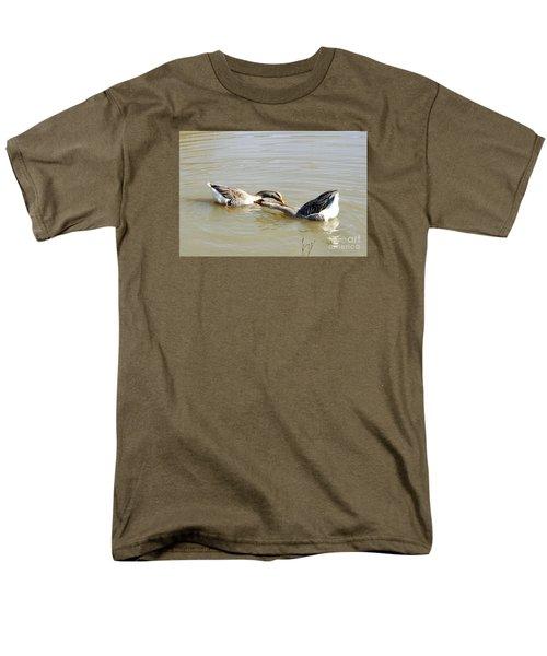 Water Arobics Men's T-Shirt  (Regular Fit) by Audrey Van Tassell