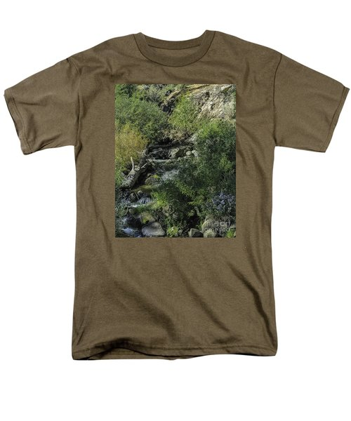 Water Logged Men's T-Shirt  (Regular Fit) by Nancy Marie Ricketts