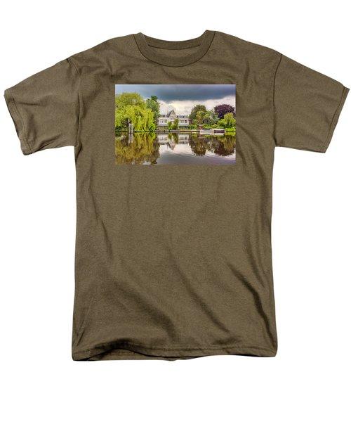 Water Reflections Men's T-Shirt  (Regular Fit) by Nadia Sanowar