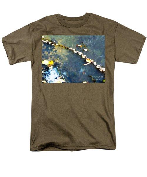 Water, Sky, Stick Men's T-Shirt  (Regular Fit) by Melissa Stoudt