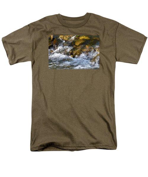 Men's T-Shirt  (Regular Fit) featuring the photograph Watercourse by Jean Bernard Roussilhe