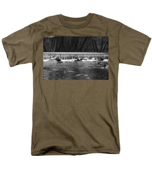 Waterfall 002  Men's T-Shirt  (Regular Fit) by Dorin Adrian Berbier
