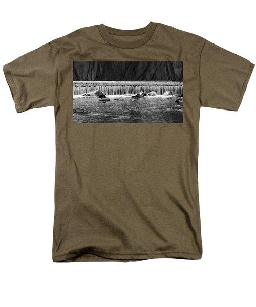 Waterfall004 Men's T-Shirt  (Regular Fit) by Dorin Adrian Berbier