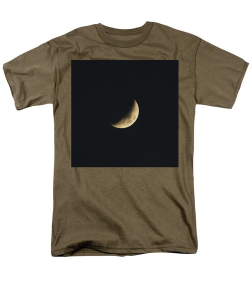 Waxing Crescent Spring 2017 Men's T-Shirt  (Regular Fit) by Jason Coward