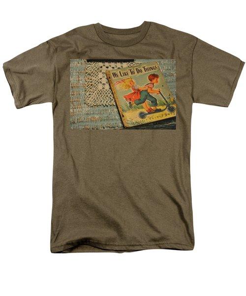 We Like To Do Things Men's T-Shirt  (Regular Fit)
