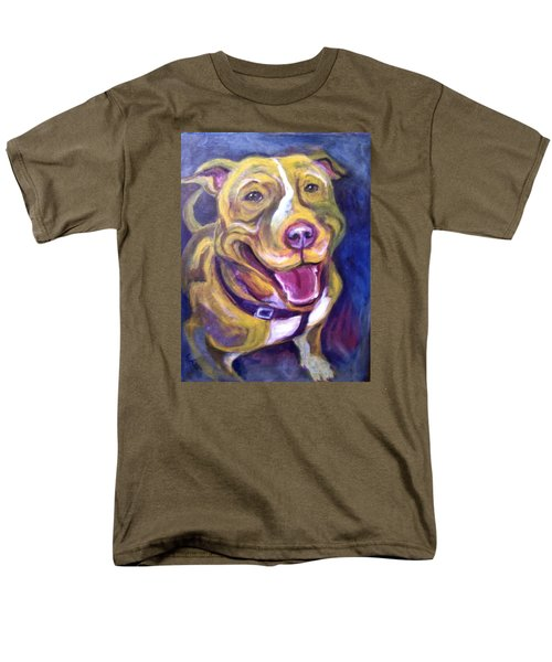 Men's T-Shirt  (Regular Fit) featuring the painting Welcome Home by Laura Aceto