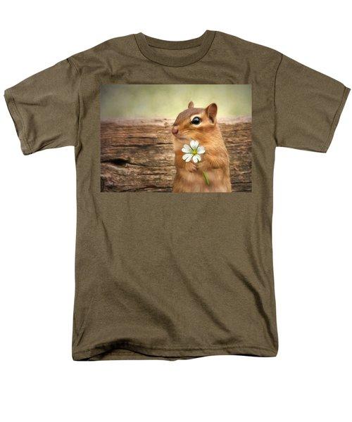 Welcome Spring Men's T-Shirt  (Regular Fit) by Lori Deiter