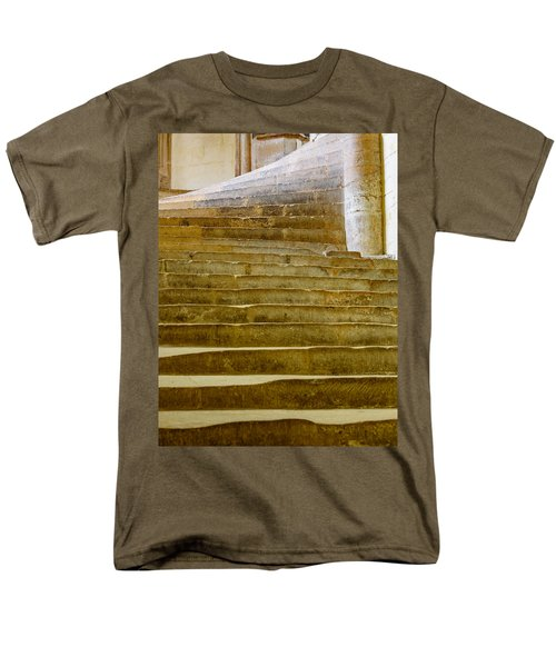 Wells Cathedral Steps Men's T-Shirt  (Regular Fit) by Colin Rayner
