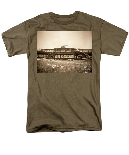 West 207th Street, 1906 Men's T-Shirt  (Regular Fit) by Cole Thompson