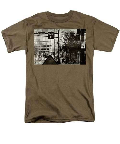 Men's T-Shirt  (Regular Fit) featuring the photograph West 7th Street by Susan Stone