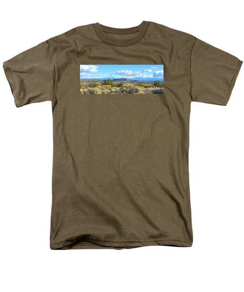 Men's T-Shirt  (Regular Fit) featuring the photograph West Of Taos by Brenda Pressnall