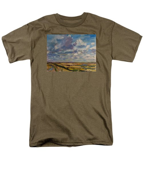 Skies Westward Men's T-Shirt  (Regular Fit) by Helen Campbell