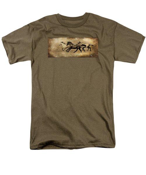 Western Flair Men's T-Shirt  (Regular Fit) by Steve McKinzie