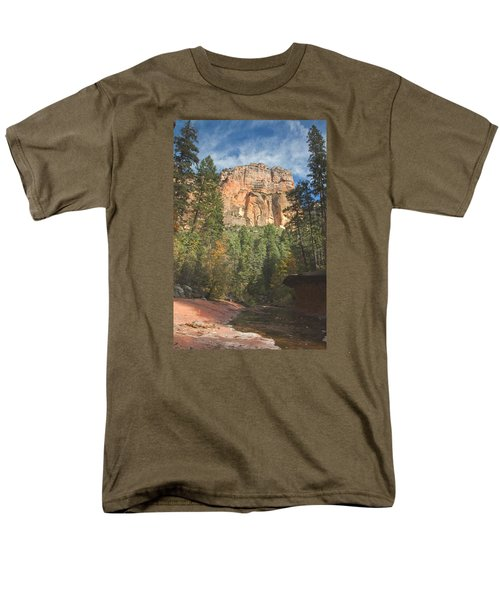 Men's T-Shirt  (Regular Fit) featuring the photograph Westfork Trail by Tom Kelly