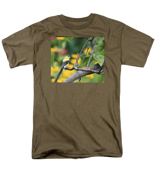 Men's T-Shirt  (Regular Fit) featuring the photograph What's Up by Debra     Vatalaro