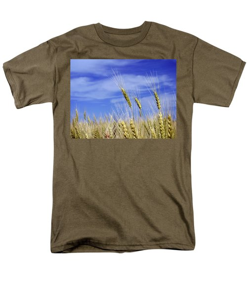 Wheat Trio Men's T-Shirt  (Regular Fit) by Keith Armstrong