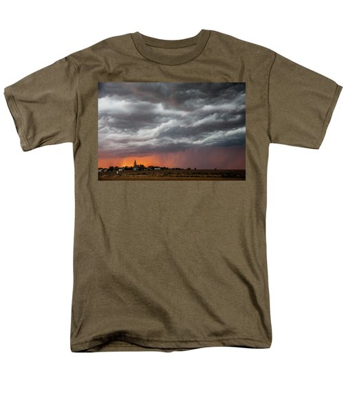 When Trouble Rises.....  Men's T-Shirt  (Regular Fit) by Shirley Heier
