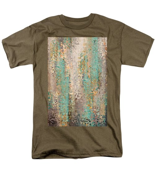 Where Are You God. Hebrews 4 12 Men's T-Shirt  (Regular Fit) by Mark Lawrence