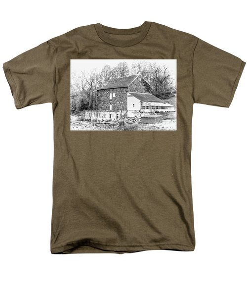 Where Have All The Farmers Gone Men's T-Shirt  (Regular Fit) by Judy Wolinsky