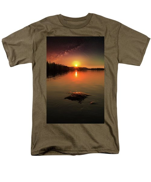 Where Heaven Touches The Earth Men's T-Shirt  (Regular Fit) by Rose-Marie Karlsen