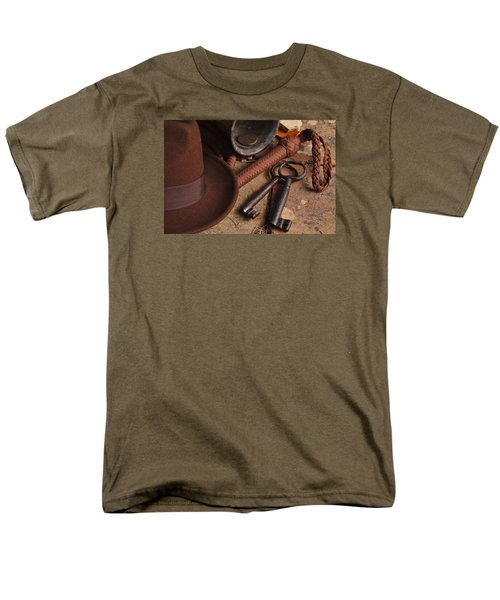 Where Is Indiana? Part 2 Men's T-Shirt  (Regular Fit) by Angelo DeVal
