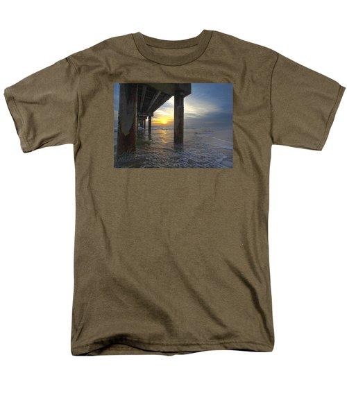 Where The Sand Meets The Surf Men's T-Shirt  (Regular Fit) by Robert Och
