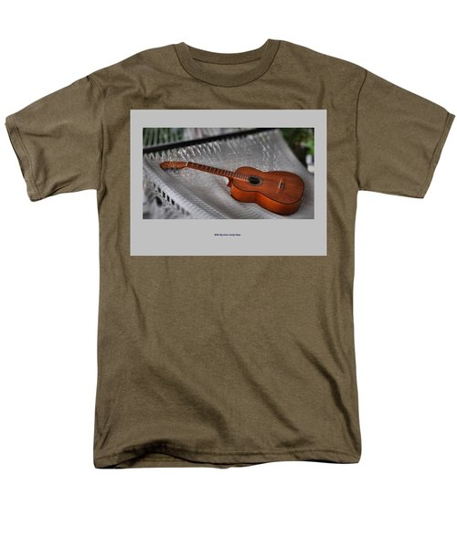 While My Guitar Gently Sleeps Men's T-Shirt  (Regular Fit) by Jim Walls PhotoArtist
