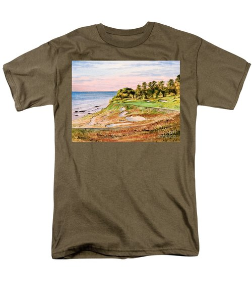 Whistling Straits Golf Course 17th Hole Men's T-Shirt  (Regular Fit) by Bill Holkham