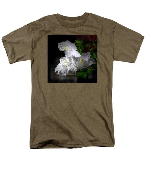 White Blossoms Men's T-Shirt  (Regular Fit) by Robert Och