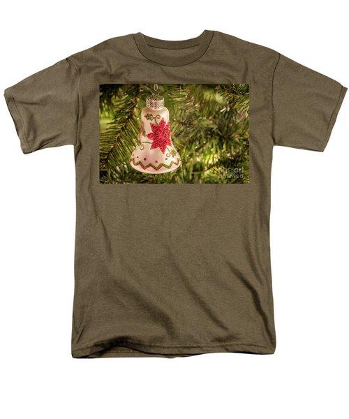 White Christmas Ornament Men's T-Shirt  (Regular Fit) by John Roberts