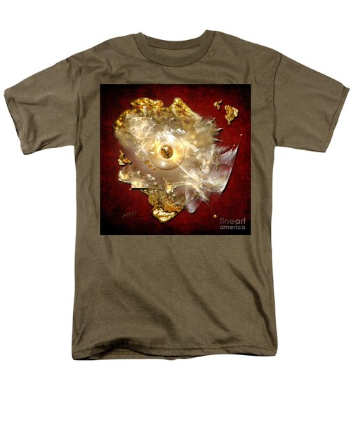 Men's T-Shirt  (Regular Fit) featuring the painting White Gold by Alexa Szlavics