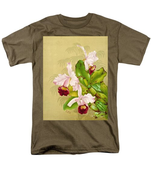 White House Orchid 1892 Men's T-Shirt  (Regular Fit) by Padre Art