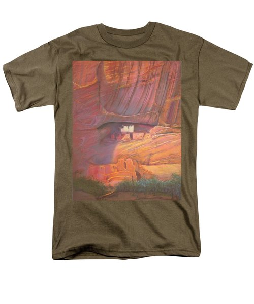 White House Rock  Home Of He Anasazi He Anasazi Men's T-Shirt  (Regular Fit)