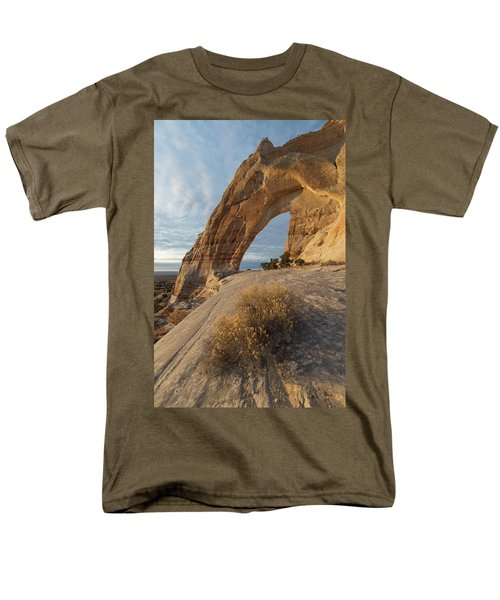 Men's T-Shirt  (Regular Fit) featuring the photograph White Mesa Arch by Dustin LeFevre