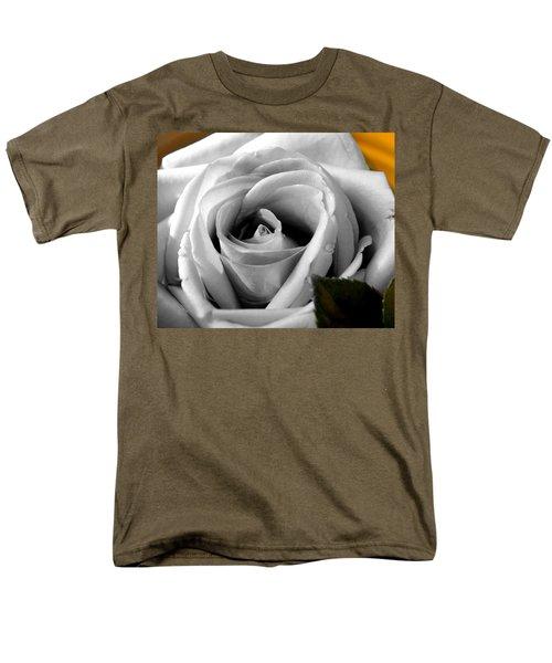 White Rose 2 Men's T-Shirt  (Regular Fit)
