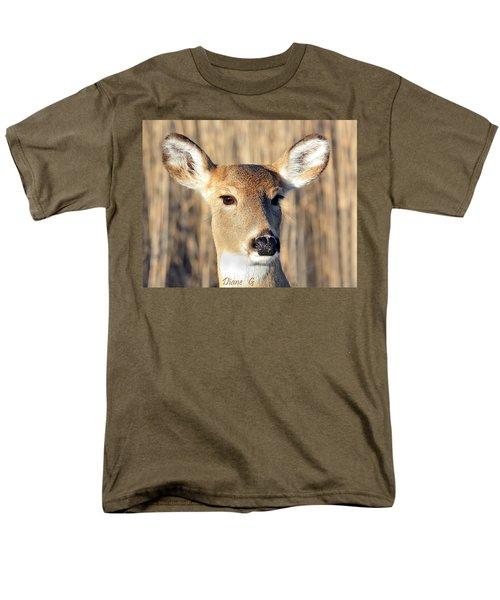 White-tailed Deer Men's T-Shirt  (Regular Fit) by Diane Giurco