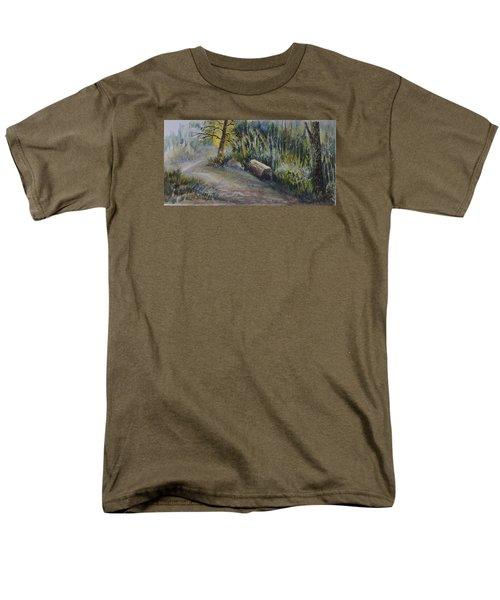 Whiteshell Trail Men's T-Shirt  (Regular Fit) by Joanne Smoley