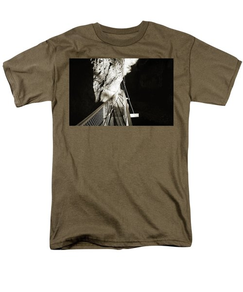Whitewater Walk Men's T-Shirt  (Regular Fit) by Jan W Faul