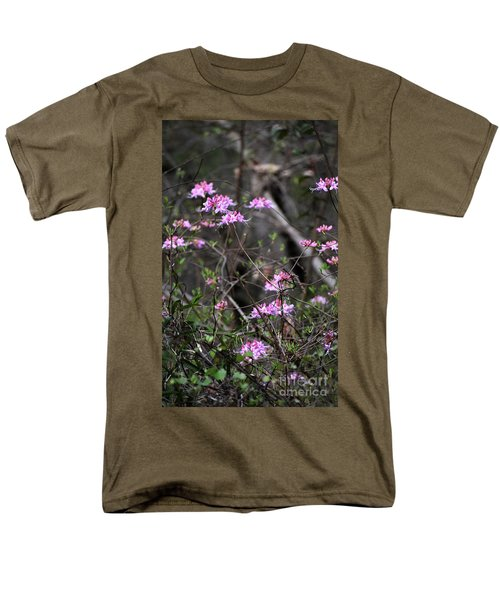 Men's T-Shirt  (Regular Fit) featuring the photograph Who Put The Wild In Wildflowers by Skip Willits