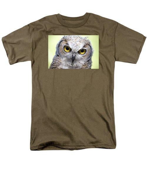 Whooo Men's T-Shirt  (Regular Fit) by Tom Buchanan