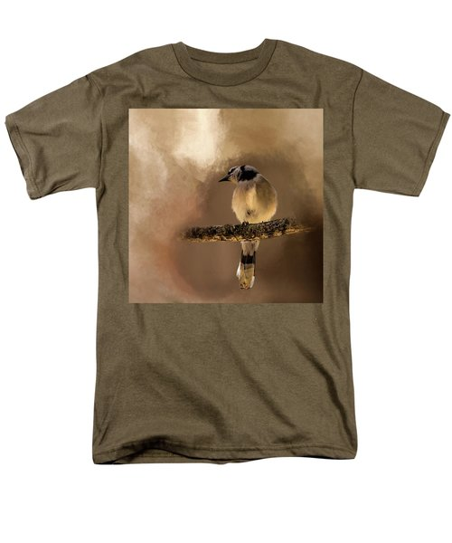 Who's There? Men's T-Shirt  (Regular Fit) by Cyndy Doty