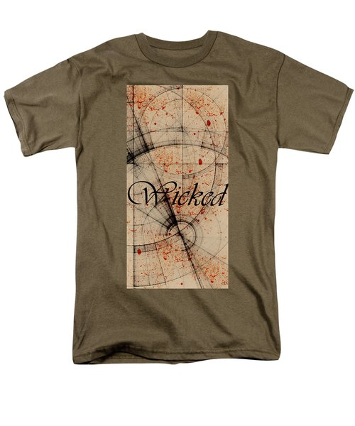 Wicked Men's T-Shirt  (Regular Fit) by Cynthia Powell