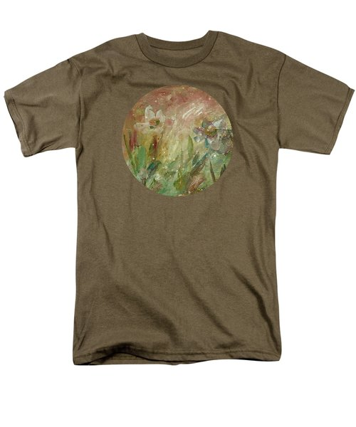 Men's T-Shirt  (Regular Fit) featuring the painting Wil O' The Wisp by Mary Wolf